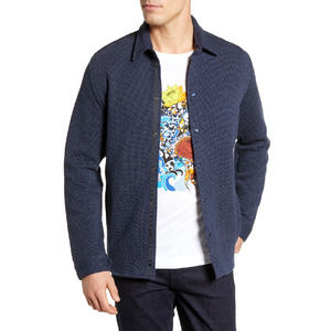 ROBERT GRAHAM Justin Textured Tailored Fit Jacket